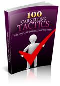 100 car selling tactics